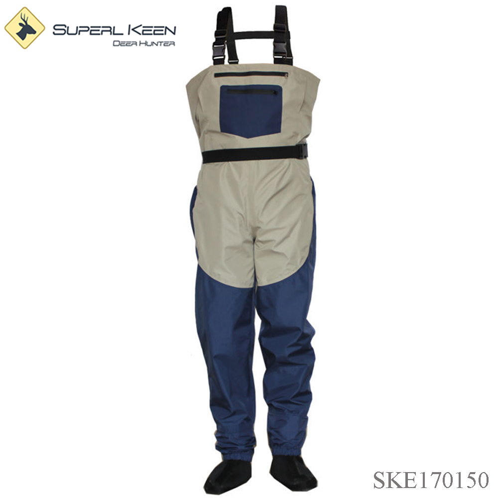High Quality Neoprene Stocking Foots Fly Fishing Wader Suit