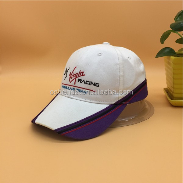 100% cotton embroidery sports cap manufacturer from china