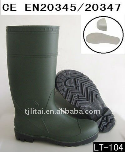 green industry safety shoes for worker