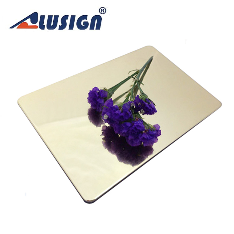 Alusign pvdf fiberglass wall cladding decorative plastic panels