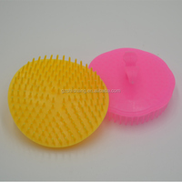 Factory wholesale brush hair washing plastic hair brush