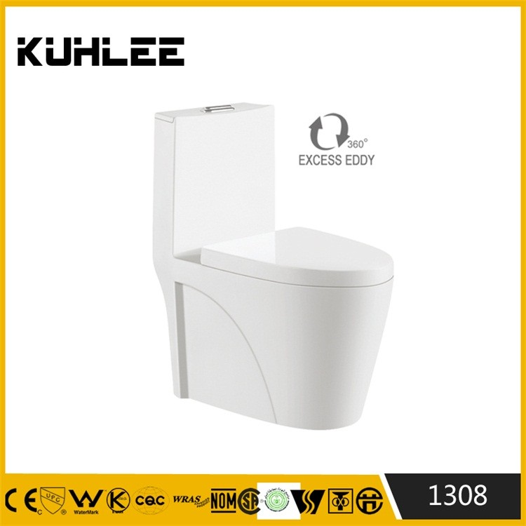 KL-1308 Siphonic standard toilet size bathroom water closet wc toilet