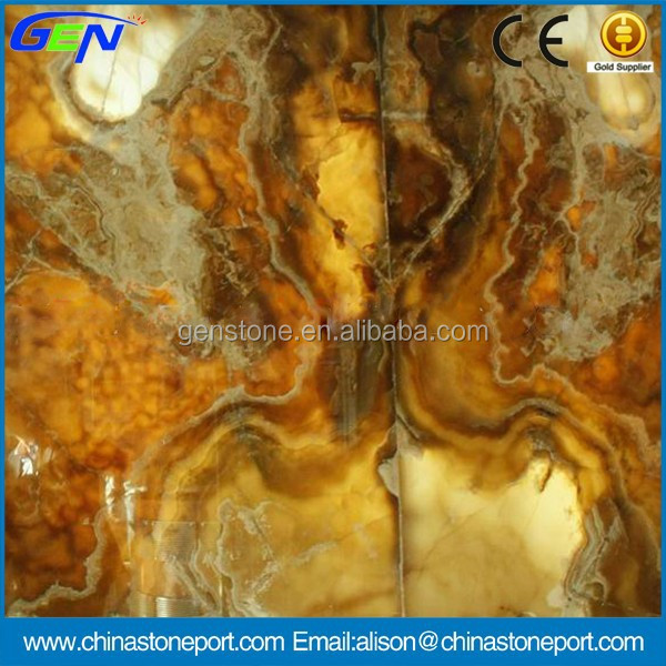 High Quality Natural Stone Polished Onyx Vanity Tops
