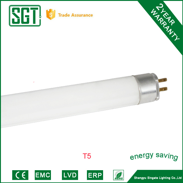 T5 fluorescent lamps 8w 12w warmlight energy save lamps