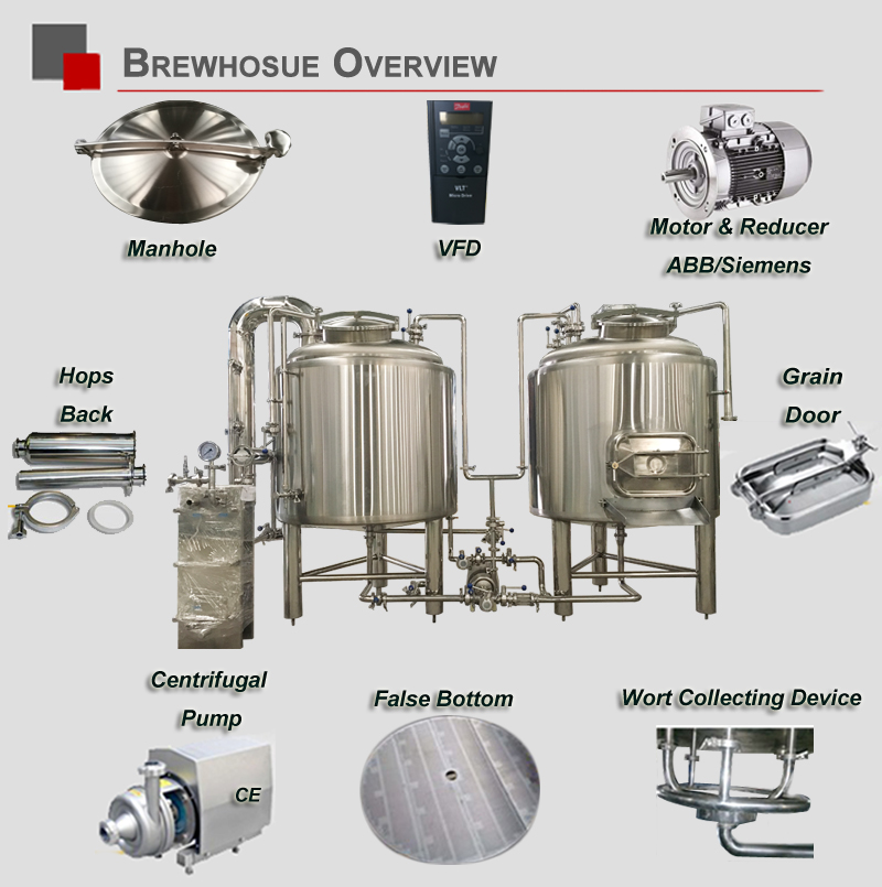 15BBL Micro Beer Brewery Equipment