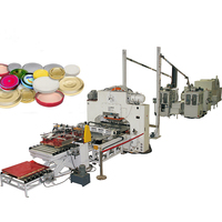 Machinery Automatic Twist Off Cap Making Machine /Glass Jar Bottle Cap canned food cup cap Production Line for food can