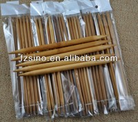 Bamboo knitting needle, size 2.0mm-10mm, natural and carbonized color