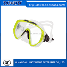 Silicone or PVC material diving mask swimming equipment swimming diving masks