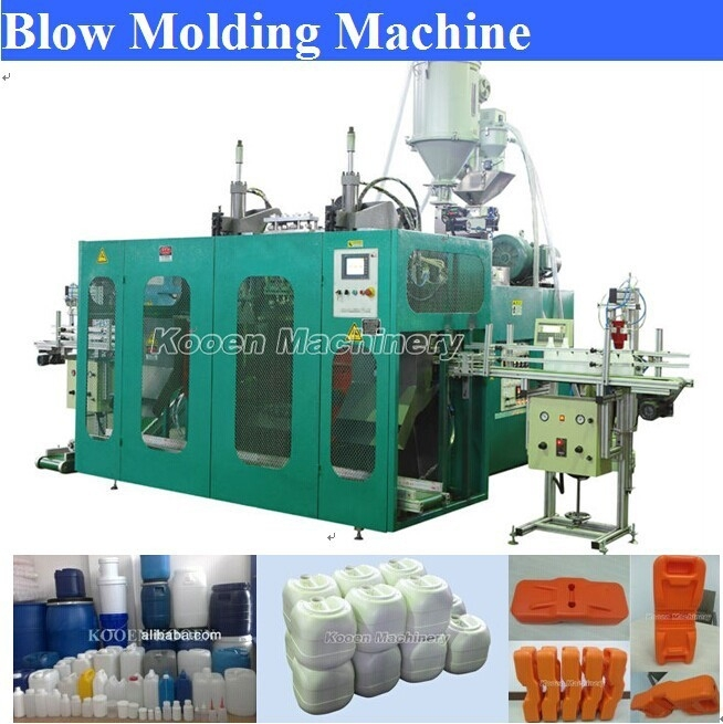 Kooen machinery KEB80 PP/PET/ABS/PVC matrials bottles automatic Plastic Blowing Machines