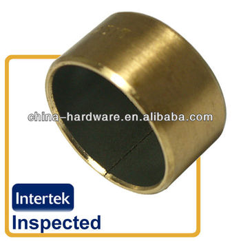 PTFE coated bronze backing DU bushing,oilless dry bush
