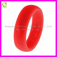 Silicone Wedding Ring - Flexible Mens Wedding Band - Best Silicone Ring for Athletes