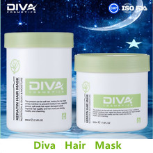 DIVA The world best selling products keratin hair mask argan oil hair mask for shining oem /odm