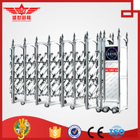 Auto retractable folding main gate designs-J1363