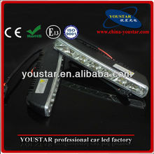 White With Turning Light Function Flexible LED Daytime Running Light