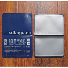 wholesale high quality plastic credit card sleeves