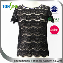 High quality lace shirt for women