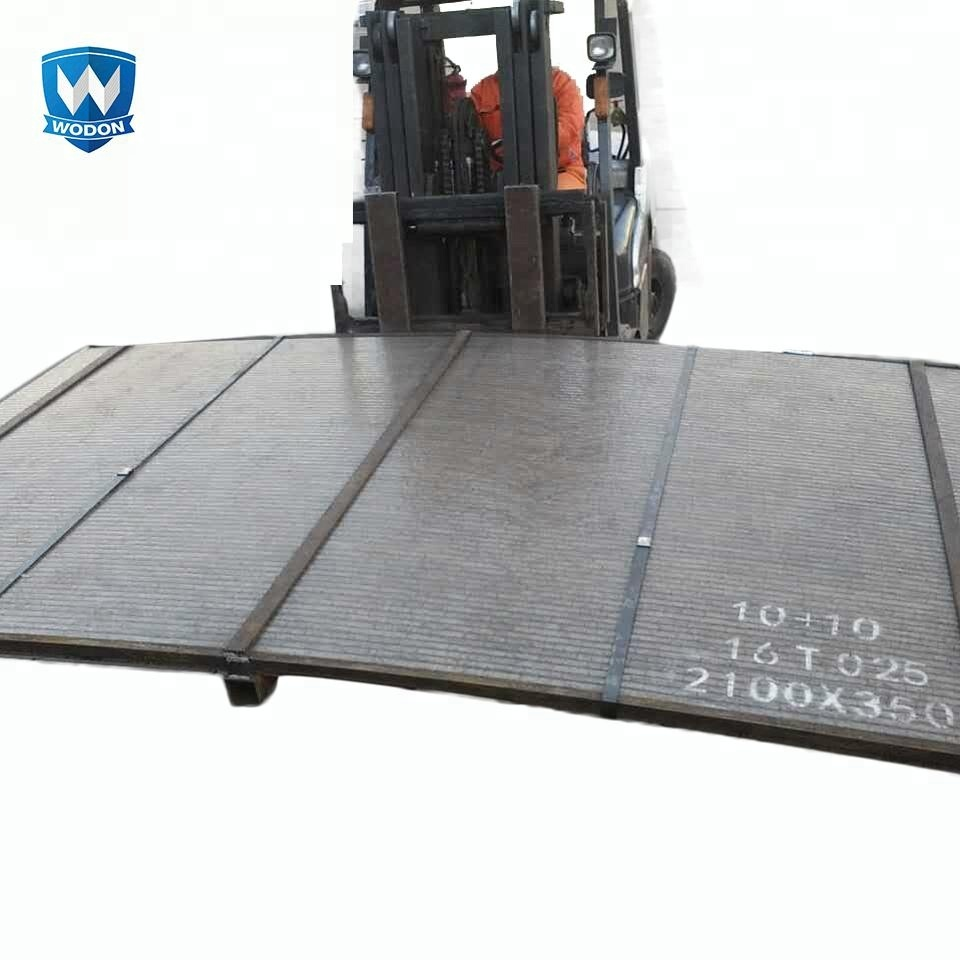Wodon high strength chromium carbide overlay bimetal steel with wear resistance