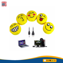 2017 cheap new design best oem custom microphone mobile digital minion mini portable funny emoji usb wireless bluetooth speaker