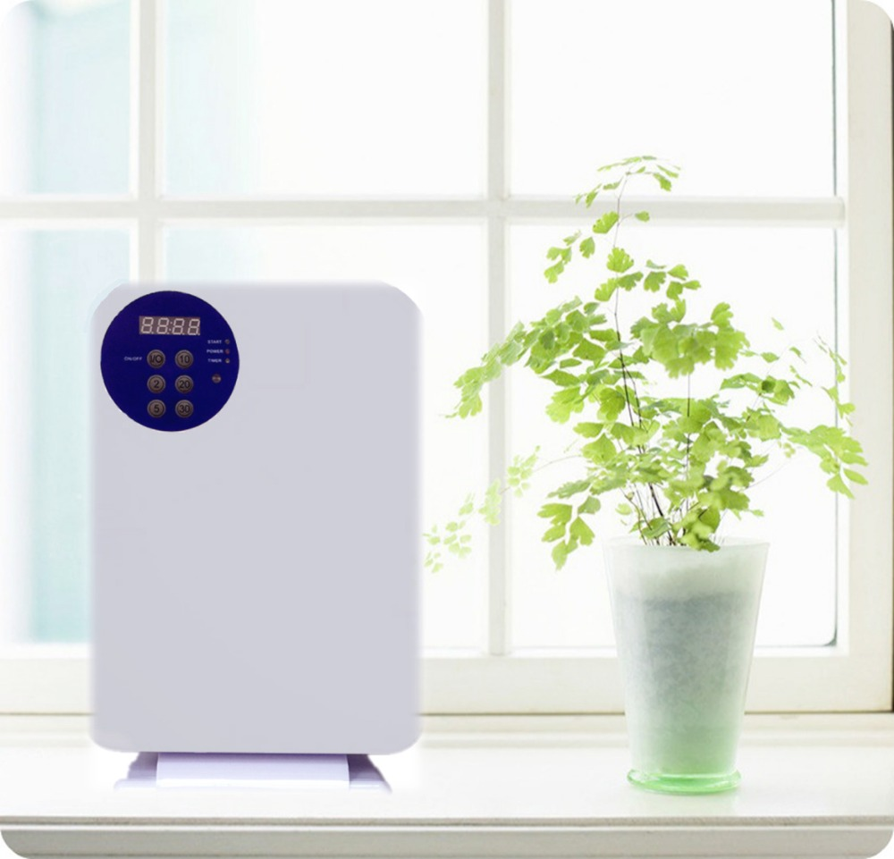 Ozone generator air purifier with 400 mg/h