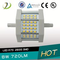 2014 hot sale high lumen 5w 8w 15w 17w 20w 22w halogen R7S CRI>80 PF>0.95 85-265V AC use