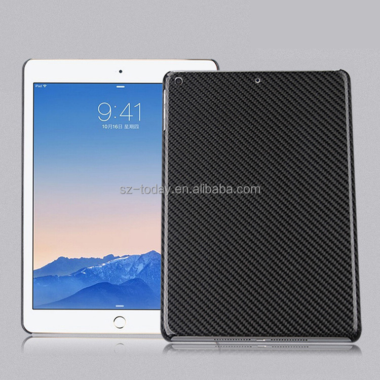 New Arrival Factory Price carbon fiber case for iPad air2 Case