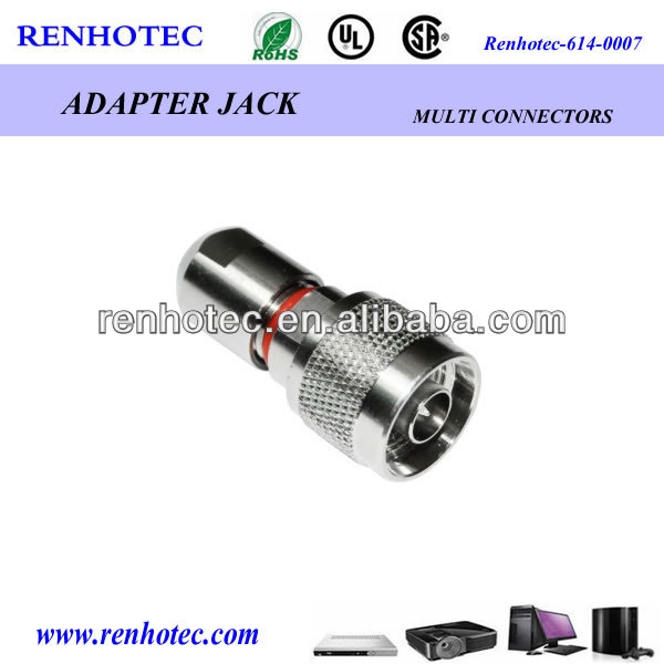 RF rj45 coaxial cable n waterproof bulkhead electrical connector