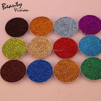 Wholesale Private Label Cosmetics Metallic Eyeshadow Palette Customize you logo makeup factory
