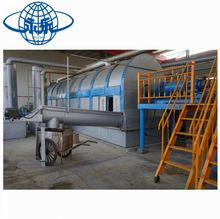 Good price waste tyre recycling pyrolysis equipment/waste plastic pyrolysis oil refining machine