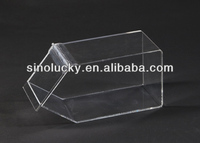 clear acrylic wall mounted dsipaly dispenser