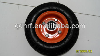 6x2 solid scooter wheel PU