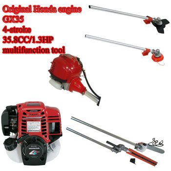 original 4 stroke Honda engine brush cutter,4 in 1 multifunction garden tool