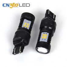 2017 hot selling ultra bright car led light T20 W21/5W 7443 LED