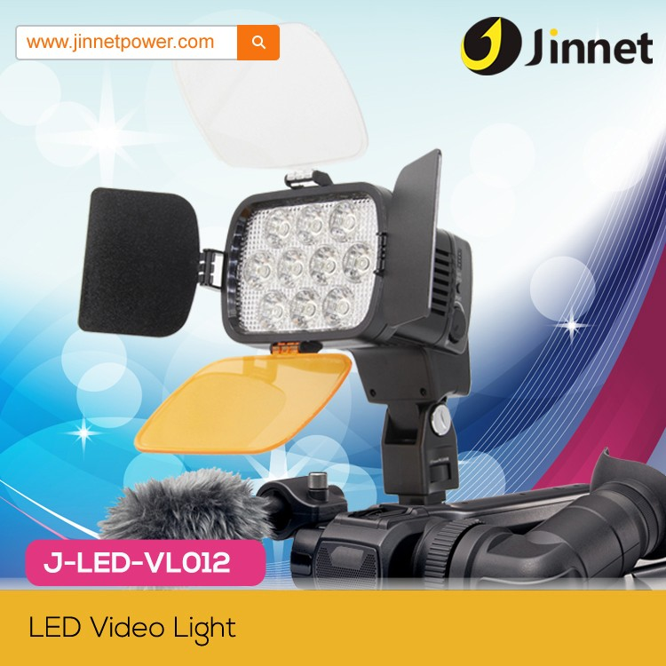 Professional VL-012 Video Shooting LED Light For DV Camcorder And Camera