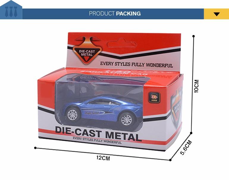 Presente engraçado do veículo de metal fundido do caminhão do caminhão modelo brinquedos para o miúdo