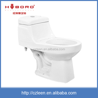 Custom one piece ceramic s-trap portable toilets for home