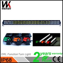 adjustable mount 216w car led driving light bar dual row led turn waring light bar for jeep wrangler jk 4x4 offroad truck