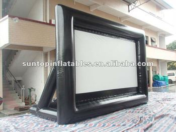 the newest and funny inflatable advertising movie TV screen with the best price and high quality