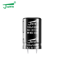 High voltage 450v 820uf electrolytic capacitor