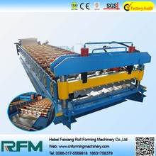 roof Sheet/Panel Roll Forming Machine, corrugated steel plates machine, trapezoid profile iron sheet