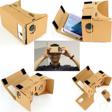 good quality with cheaper price DIY google cardboard 3d video viewer