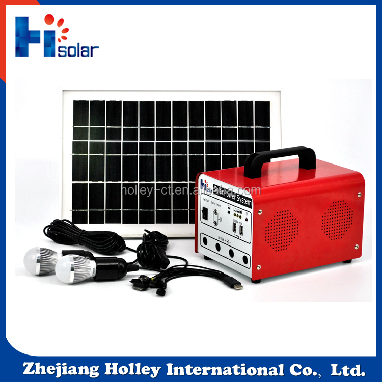 Newest complete mini energy saving system 50W 45Ah portable solar lighting generator for house