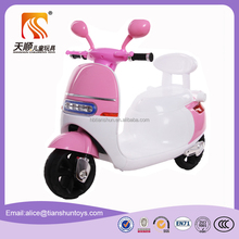 Factory sale kids plastic motorcycle for sale with CE certificate