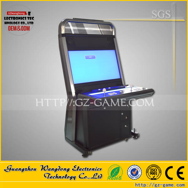 2016 keymaster sega 2 players 32 inch arcade cabinet fighting video game machine for sale, multigame slot game board for sale