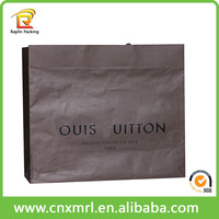 2015 recycle matt customized brand paper bags for clothing