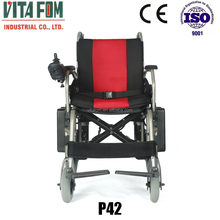 Light, Foldable and portable Disabled/Handicapped/Elderly Power Wheelchair (Taiwan Motor & PG Controller) with CE