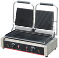 Electric Panini Sandwich Press Griller 2 Head BN-813