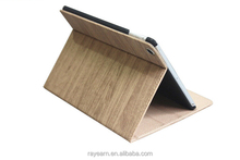 New Products Wooden Pattern Tablet Cover Case For iPad Air 2 With Auto Wake Sleep Features