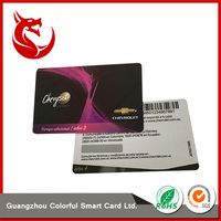 Factory direct sell finish barcode scratch card with silver layer