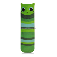 long PVC hot water bottles with green fleece covers wholesale price