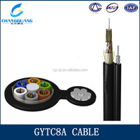 GYTC8A outdoor stranded 12 core multi mode fiber optic cable